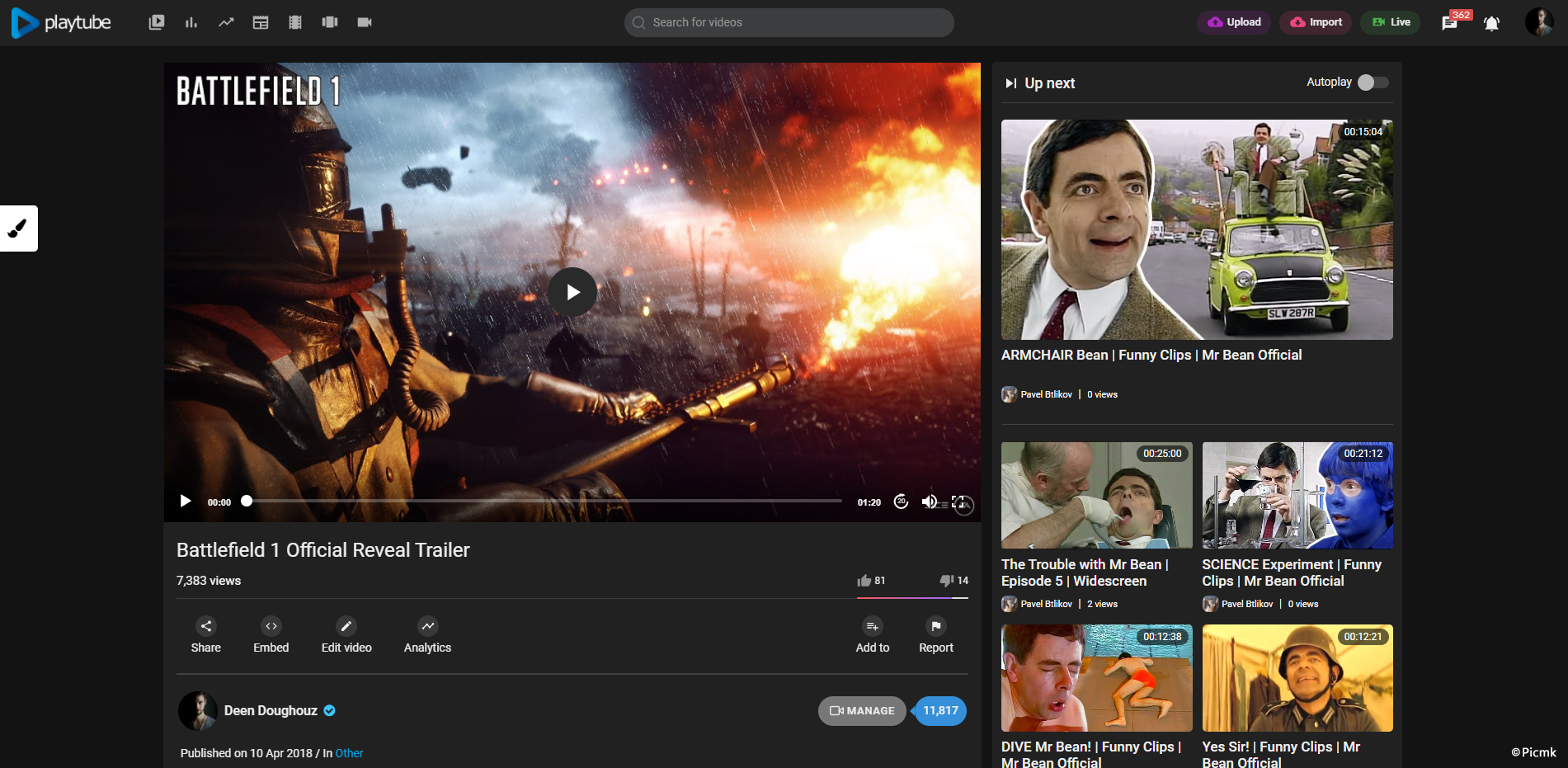 PlayTube v2.0.3 - 國外高級PHP視頻係統源碼 & PHP視頻分享平台源碼插圖5
