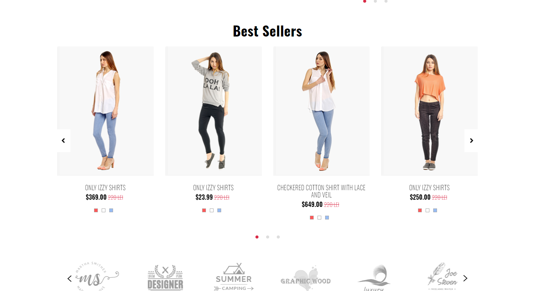 F-Store 国外商业版HTML模板插图7