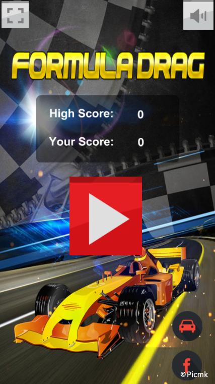 HTML5赛车冒险类游戏源码【方程式赛车雄】插图1
