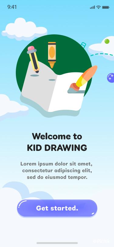 兒童繪畫APP_天賦挖掘反應類APP插圖9