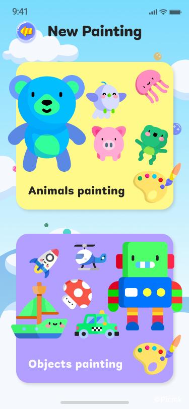兒童繪畫APP_天賦挖掘反應類APP插圖7