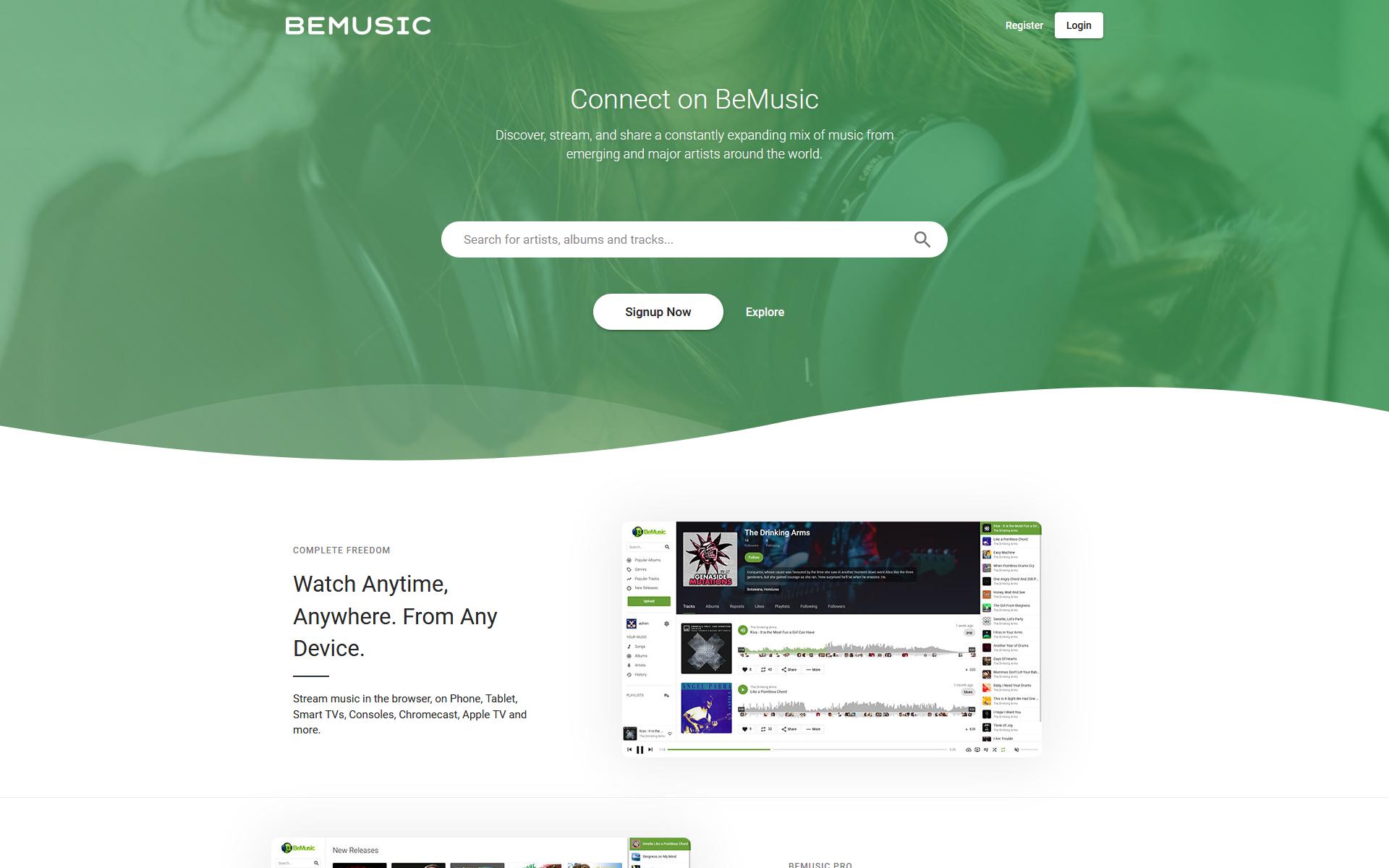 PHP+MYSQL多语言在线音乐分享下载在线收听流媒体引擎插图5