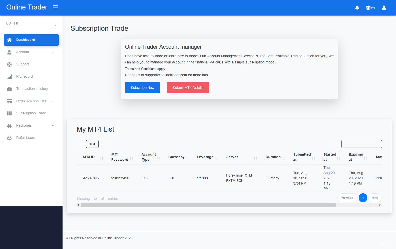 2021最新PHP交易投資管理係統源碼開心版插圖7