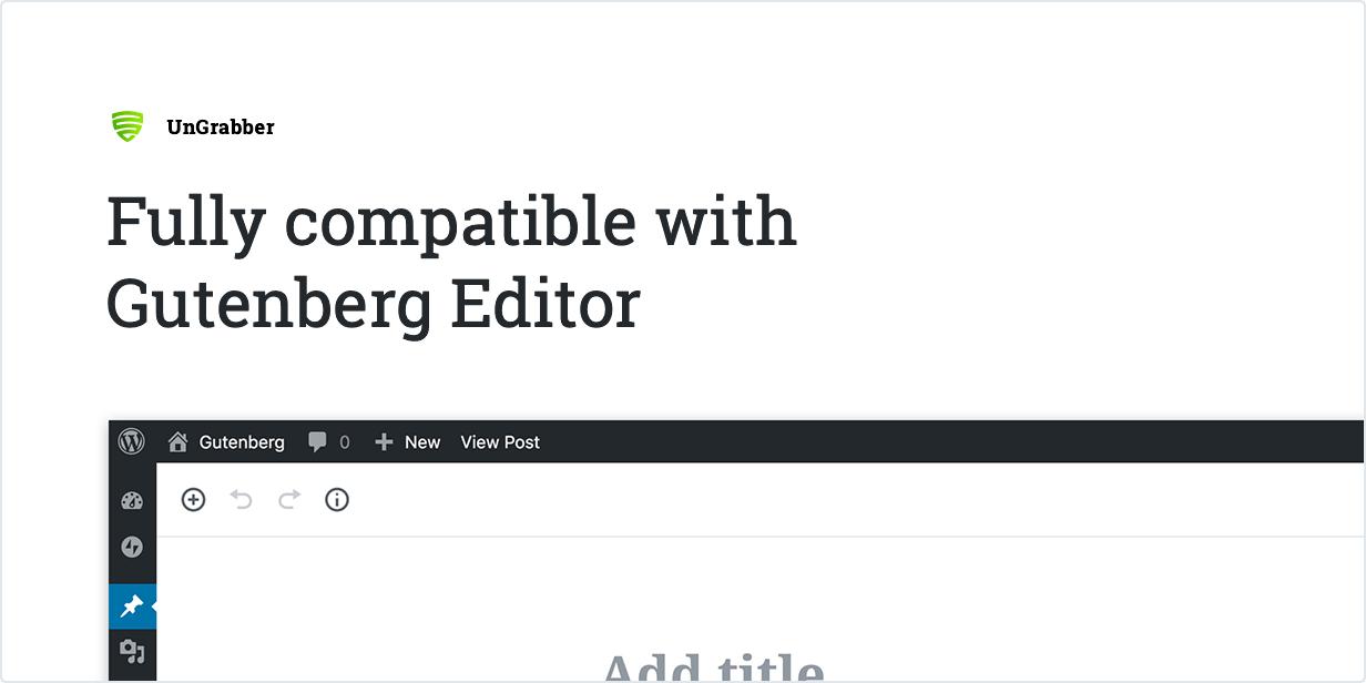 UnGrabber-WordPress內容保護插件,WP防采集插件插圖3