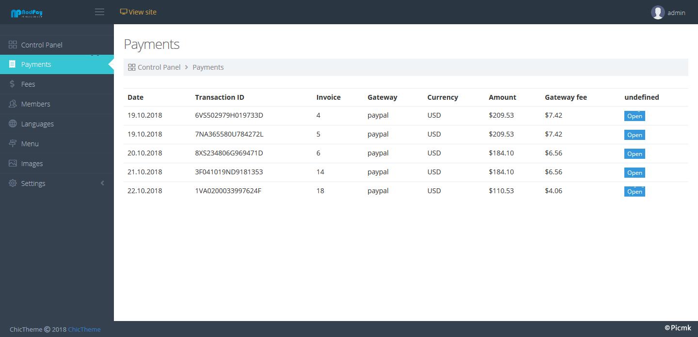 PHP在线支付多语言收款程序 PAYPAL收款程序插图1