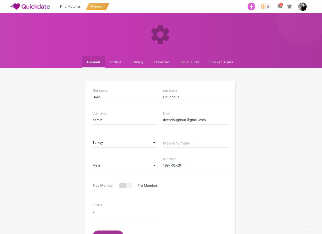 快約 - PHP社交約會平台源碼開心版插圖7