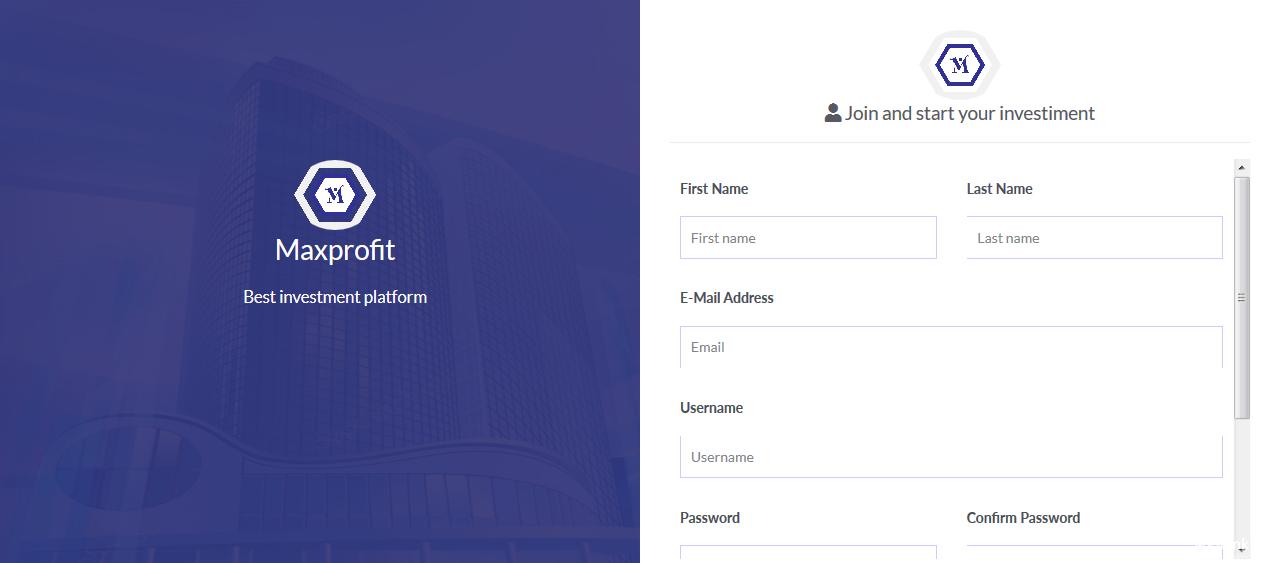 Maxprofit v5.0 - PHP在线多功能投资平台插图5