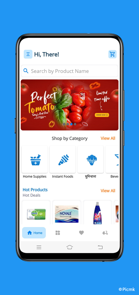 eCart完整安卓版APP - 適用於雜貨店,食品店,水果店,蔬菜店等+外送配送版+PHP端插圖5
