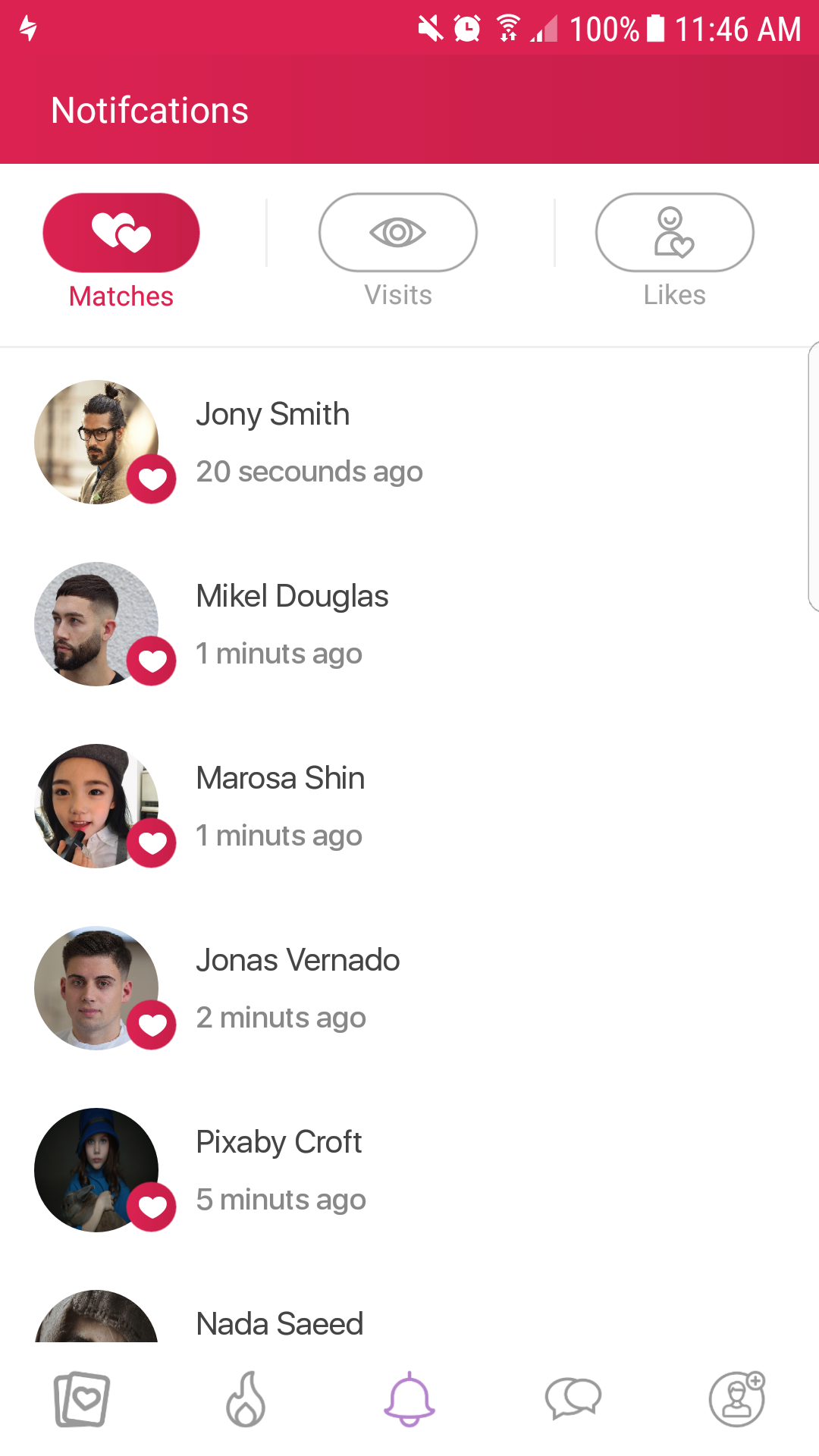 安卓快約APP -移動社交約會平台應用程序插圖5