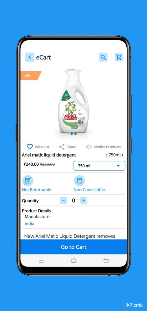 eCart完整安卓版APP - 適用於雜貨店,食品店,水果店,蔬菜店等+外送配送版+PHP端插圖9
