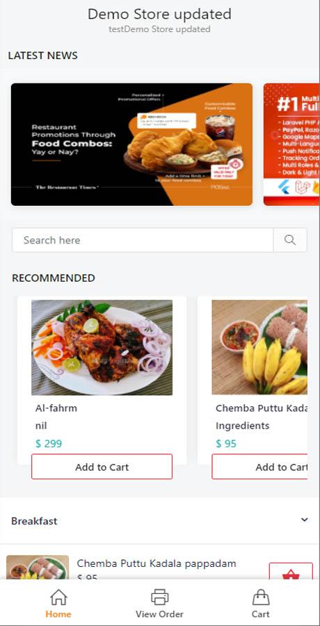 功能強大的國外商業版非接觸式餐館菜單二維碼生成器(多餐廳版) 安卓蘋果雙端APP+PHP Laravel管理後台插圖1