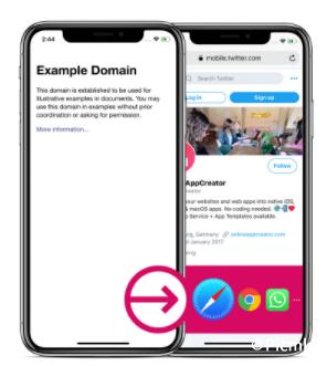 苹果WebView/URL或HTML直接包装成iOS应用程序并且带Push/API插图5