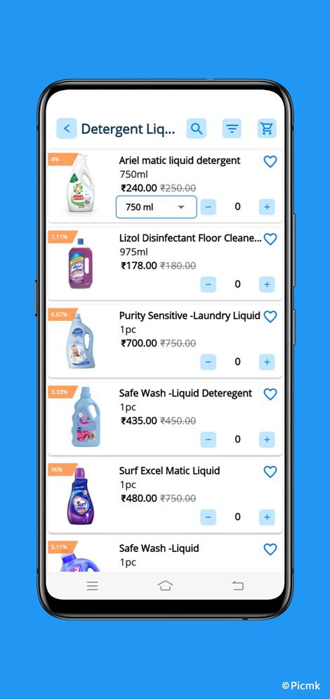 eCart完整安卓版APP - 適用於雜貨店,食品店,水果店,蔬菜店等+外送配送版+PHP端插圖7