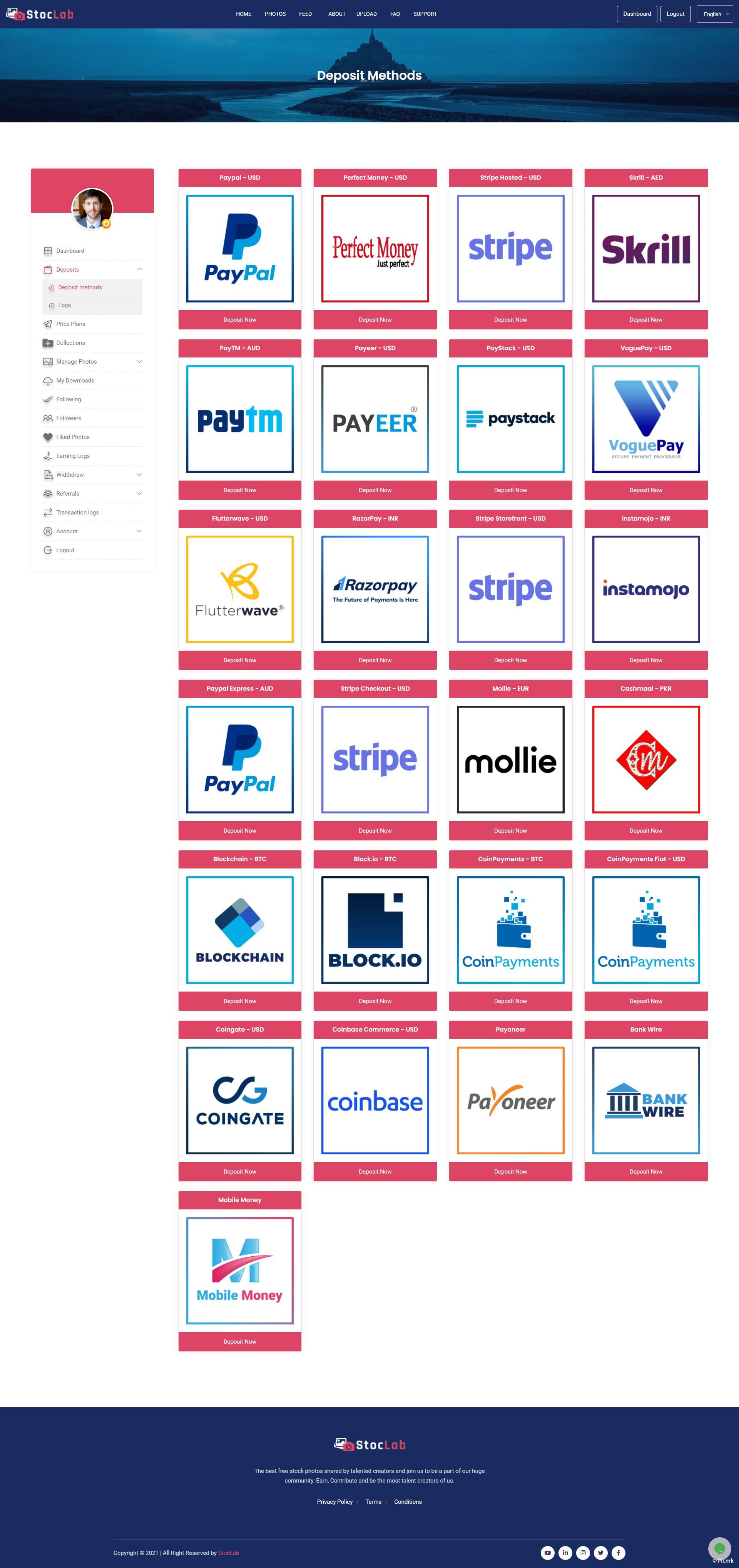 一款PHP照片分享平台/Microstock/带多种支付网关插图3