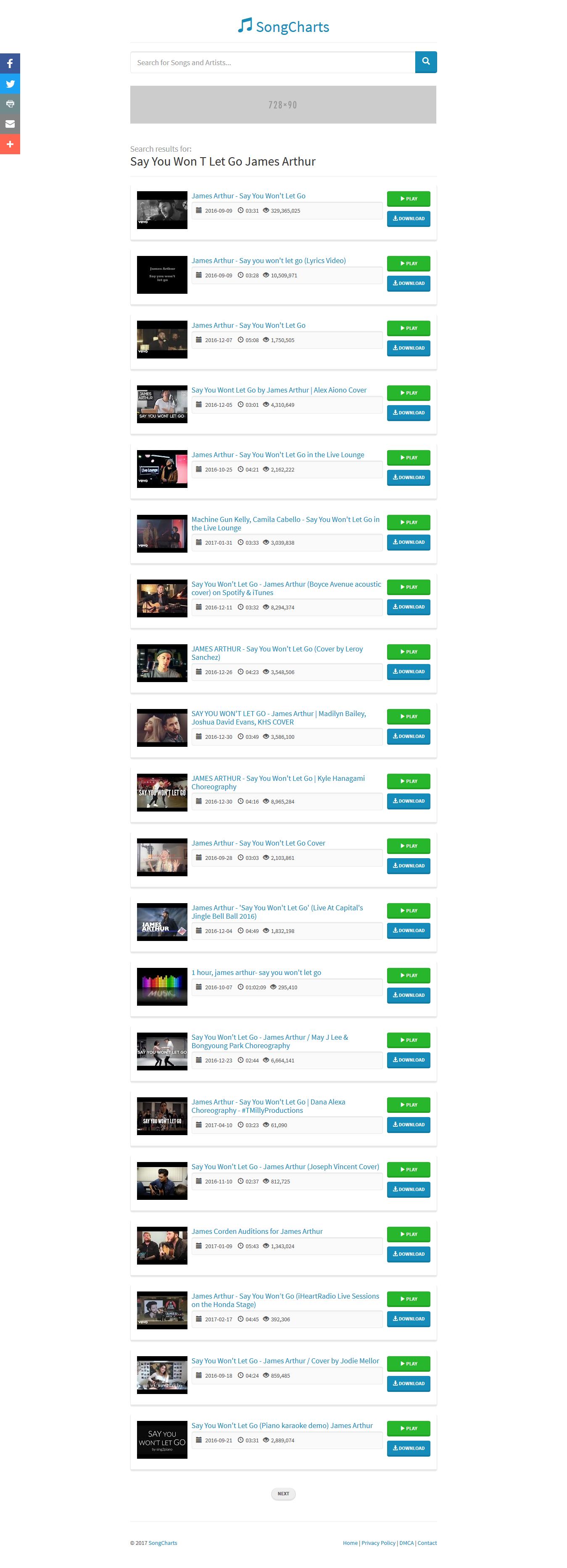 PHP自动索引音乐排行榜/音乐搜索下载引擎源码插图7