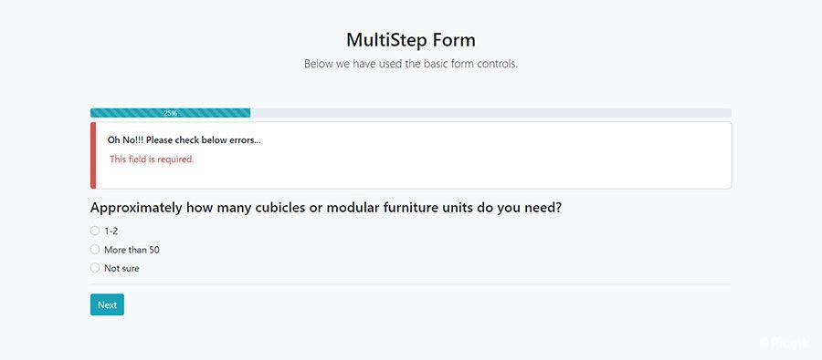 StepForm-多步驟PHP表單源碼插圖3