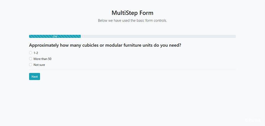 StepForm-多步驟PHP表單源碼插圖1