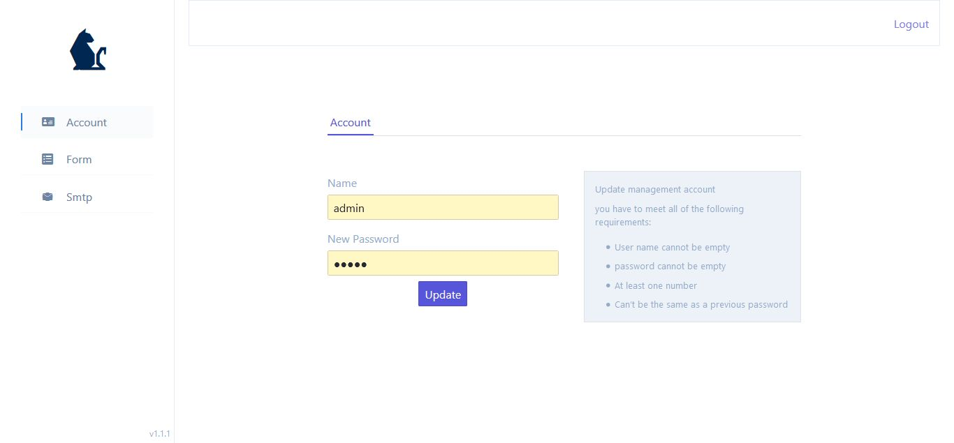PHP-Ajax简洁联系表单/支持SMTP插图3