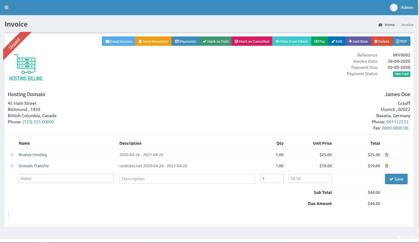 PHP帶CMS的域名主機賬單係統/多語言/開心版插圖9