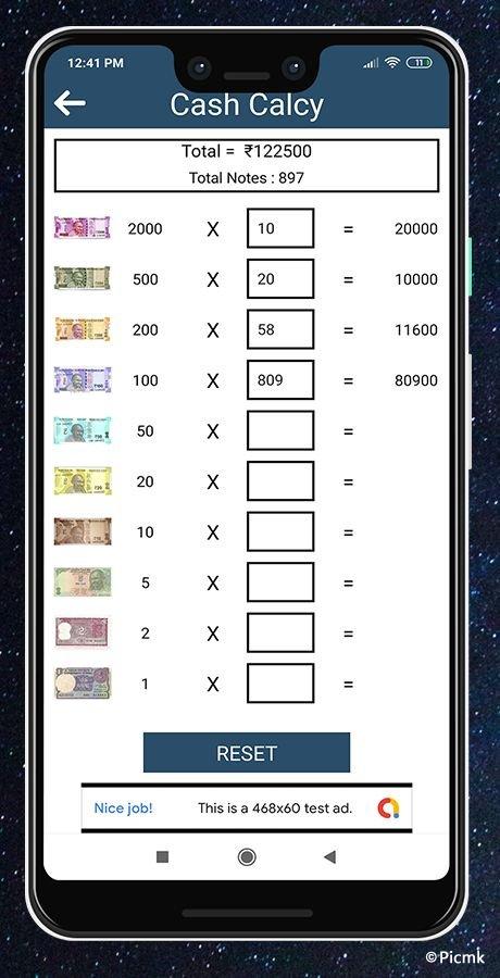 安卓EMI/GST稅率計算器源碼/分期付款/貸款利息計算器插圖9