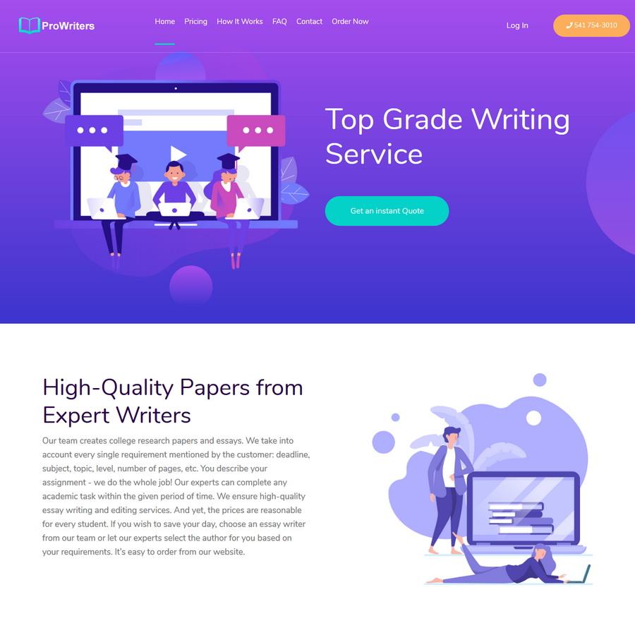 PHP代筆業務銷售平台源碼/代寫業務/寫作業務插圖1