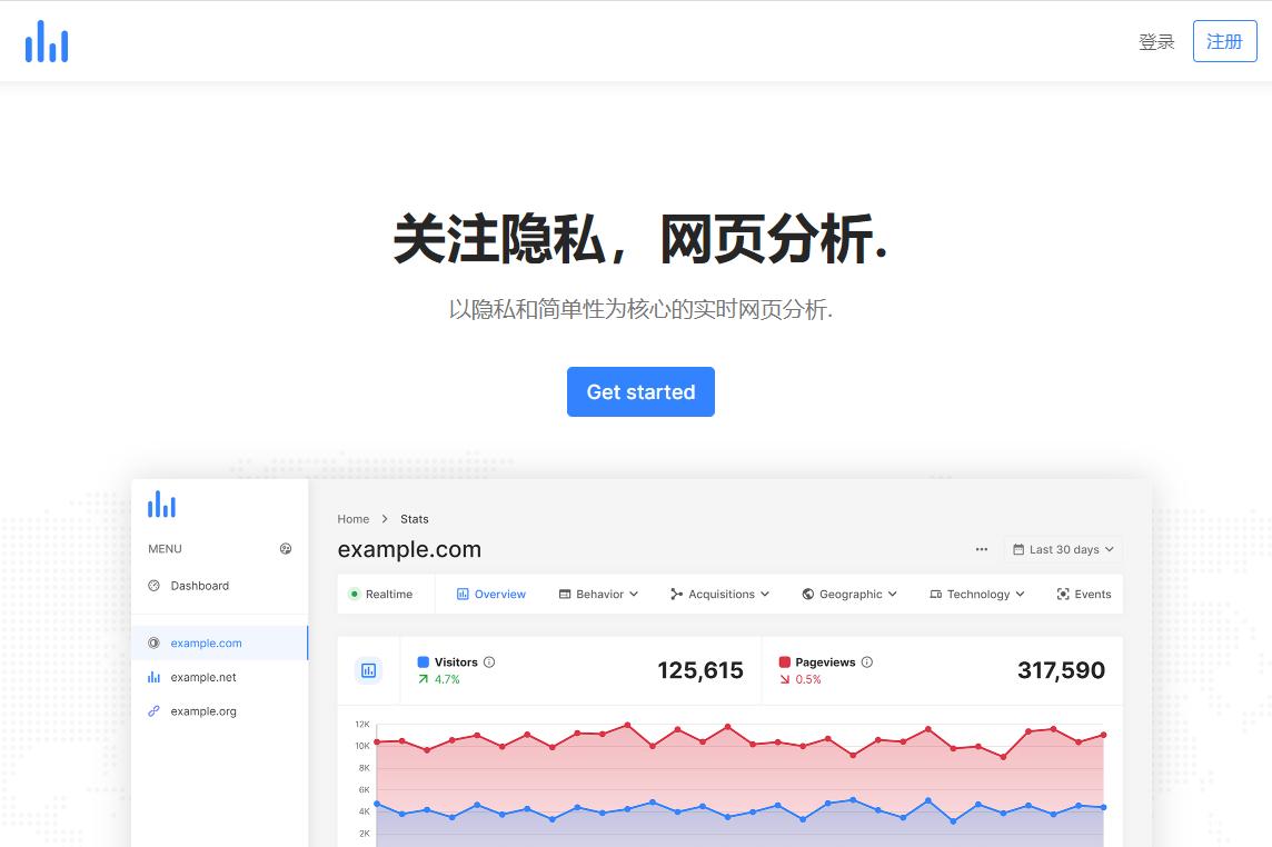 PHP多用戶網站統計分析平台源碼/統計源碼/多語言插圖5