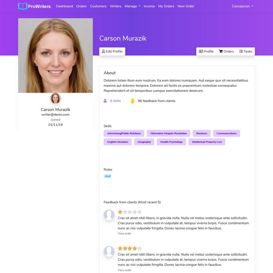 PHP代筆業務銷售平台源碼/代寫業務/寫作業務插圖5