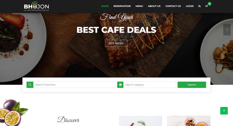 PHP餐飲運營係統/博康線上餐廳管理係統帶網站開心版插圖1