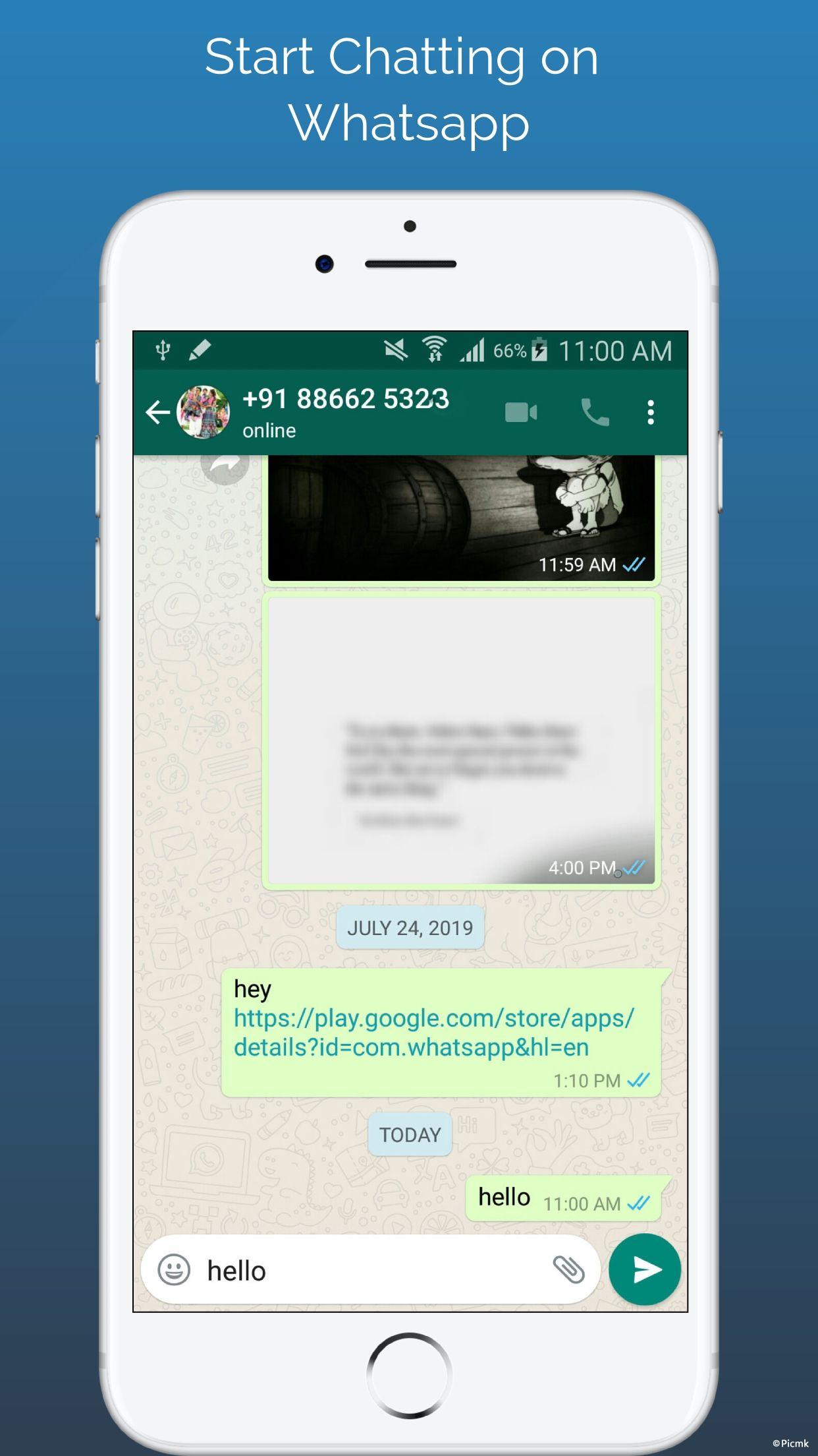 Quick Messenger-安卓APP模板/WhatsApp周邊APP插圖5