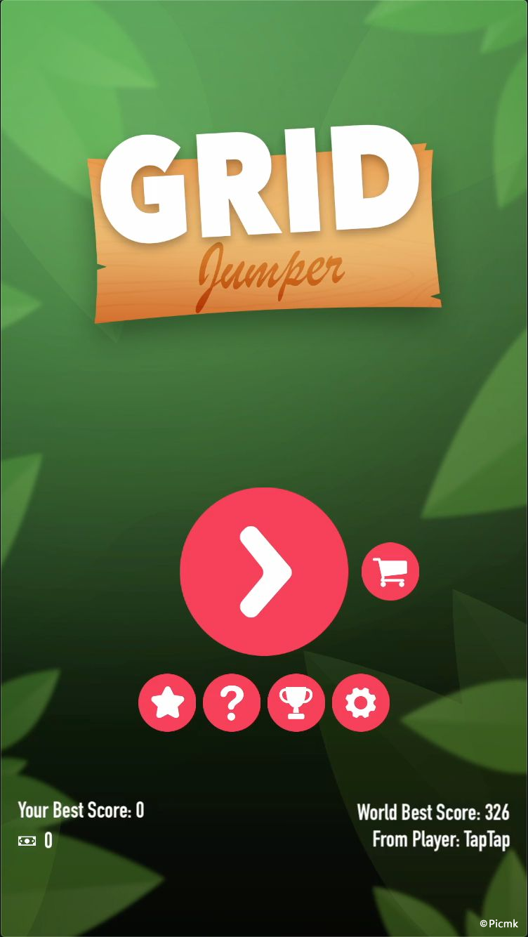 Grip Jumper遊戲iOS源碼插圖1